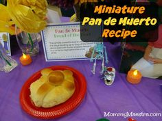 Miniature Pan de Muerto Recipe