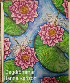 Dagdrömmar by Hanna Karlzon Medium: Derwent Inktense