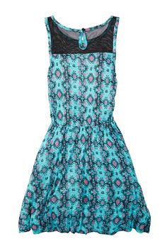 Ella Moss - Caspian Print Dress (Big Girls) at Nordstrom Rack. Free Shipping on orders over $100.