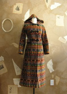 Vintage 1960s Gypsy Dancer Coat