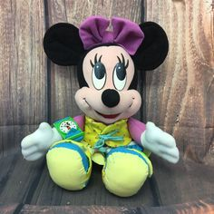 Learning Toys For Toddlers, Toddler Learning, Disney Stuffed Animals, Tie Shoes, Vintage Dresses, Mickey Mouse, Dress Up, Plush, Handmade Gifts