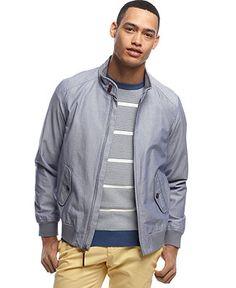 Tommy Hilfiger Berkeley Oxford Jacket - Coats & Jackets - Men - Macy's