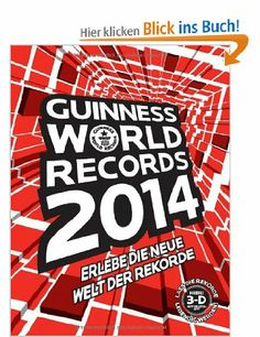 Guinness World Records Buch 2014: Amazon.de: Bücher