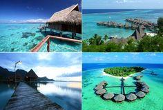 Ora Beach, Sawai, Pulau Seram, Maluku , even seems like maldives Maluku Islands, Archipelago, Beach Resorts, Dream Vacations, Maldives, Travel Destinations, Beautiful Places, Places To Visit, Explore