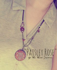 Paisley Rose  Decorative BohemianInspired by thethirdsparrow, $29.95