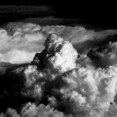 #sky #clouds #flight #cloudscape #monochrome #blackandwhite #bw