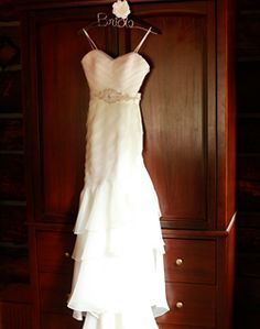 WeddingChannel Galleries: Hanging Bridal Gown