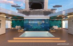 """World's most unusual yacht could cost $250M to build - Designed by Gabriele Teruzzi and named Shaddai which means, loosely, """"omnipotent"""" in Hebrew Super Yachts, Big Yachts, Luxury Yachts, Photos 2016, Motor Yacht, Pool Decks, Water Crafts, Ciel, Building"""