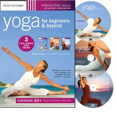 Yoga for Beginners DVD Deluxe Set with Yoga Video Workouts: Yoga for Stress Relief, AM-PM Yoga & Inflexible People. Easy Yoga for Seniors & much Learn Yoga, How To Do Yoga, Yoga Sequences, Yoga Poses, Best Yoga Dvd, Beginning Yoga, Yoga For Seniors, Beginner Yoga Workout, Deep Breathing Exercises