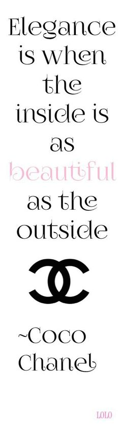 Ideas Fashion Quotes Coco Chanel Thoughts For 2019 Great Quotes, Quotes To Live By, Me Quotes, Inspirational Quotes, Hair Quotes, Style Quotes, Wisdom Quotes, The Words, Message Positif
