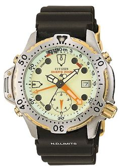 c8ae9bd24f8 Citizen ProMaster Marine Analog AquaLand AL0004-03W Best Looking Watches
