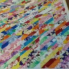 HAWAIIAN PRINT SCRAPPY QUILT - THIS IS A SPECIAL ORDER QUILT
