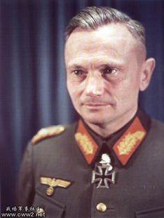 General der Panzertruppe Georg Otto Hermann Balck (7 December 1893 - 29 November 1982)