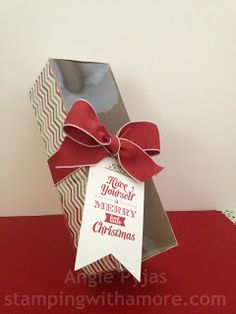 Stamping With Amore: Stampin'Up Tag a Bag Gift Boxes