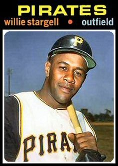 1971 Topps Willie Stargell  card that never was.