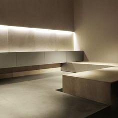 Minimal space, Maya kitchen by Minotti _
