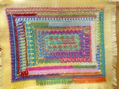 Waffle, Embroidery, Blanket, Crochet, Needlepoint, Ganchillo, Blankets, Cover, Crocheting