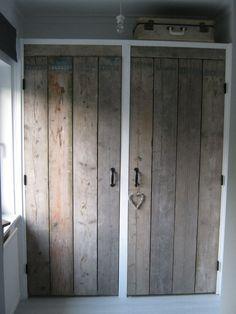 new closet doors! Wardrobe Doors, Closet Doors, Scaffolding Wood, Home Bedroom, Windows And Doors, Home And Living, Diy Furniture, Sweet Home, Home And Garden