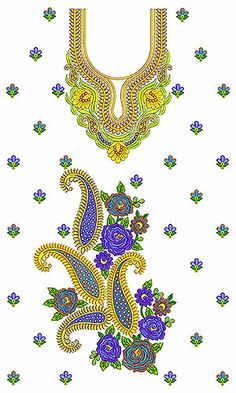 Arabian Clothing Khaleeji Embroidery Design