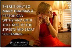 Blue Jasmine Quote - Woody Allen Film