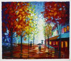 'Winter Day' Slava Ilyayev.  Hand signed limited edition
