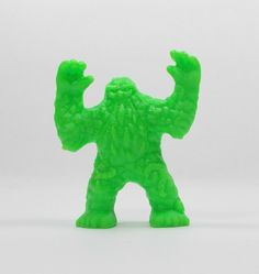 Monster In My Pocket - Series 2 - 53 Swamp Beast - Neon Lime - Mini Figure