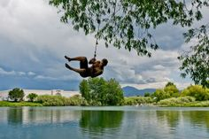 There's a pond with a rope swing in the heart of Bozeman. Need I say more?