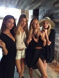 "models-of-vs: ""ingefonteyne: #somethingbigiscoming @angelcandices @lilyaldridge @marhunt @hoskelsa #glams @cgonzalezbeauty @rebekahforecast @daniellepriano @shintaroteraoka @florriewhitemakeup..."