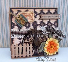 Artfull Crafts: Betsy - Graphic 45 Cards French Country Collection