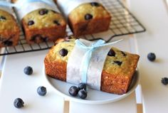 Buttermilk Banana Blueberry Bread - Damn Delicious