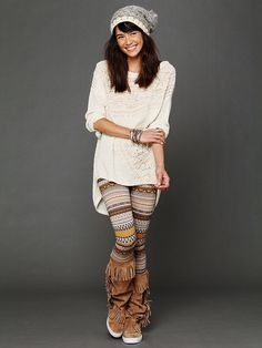 Free People Sweater Leggings, $68.00