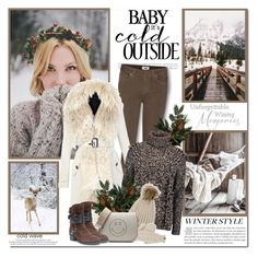 """It is too cold outside!!"" by lilly-2711 ❤ liked on Polyvore featuring Morgan, Paige Denim, Burberry, Iris & Ink, The North Face, Anya Hindmarch, Louis Vuitton and Muk Luks"