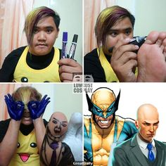 9 Lowcost Cosplays That Didn't Fail To Light Up Our Dark Souls With Laughter - The internet has generated a huge amount of laughs from cats and FAILS. Cheap Cosplay, Funny Cosplay, Epic Cosplay, Xmen, Funny Gags, Funny Memes, Funny Cute, Hilarious, Funny Today