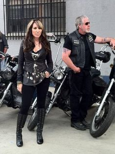Healthy obsession w/Gemma's style overall! lol. Can't wait til this season starts up again! SOA!!