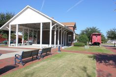 Check out the Old Train Depot in downtown Jacksonville at the Riverwalk Crossing Park