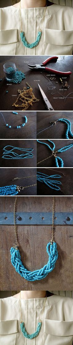 Easy And Beautiful Necklace | DIY & Crafts Tutorials