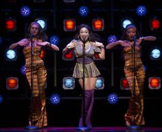Raven-Symoné and Carolee Carmello in Broadway's Sister Act
