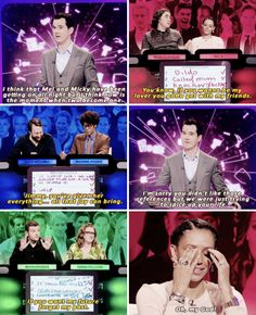"""When the contestants exclusively spoke to Mel B using Spice Girls lyrics. 