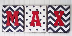 Nursery Letters Nursery Decor Upholstered Letters by fabbdesigns