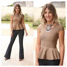 #mulpix COLEÇÃO VERÃO 2016 !! Blusa de bandagem modelo peplum #linda também na cor preta ! Calça flare hot Pants by kixou caimento perfeito !! Mas sabe #correqueacaba !! #blusa #bandagem #peplum #calça #flare #hotpants #clienteamigakixou #look #vempraca #tendência #coleção #fashion #moda #kixoumoda #lookverao #verao #9anoskixou #kixou9 #9kixou #9anoscomvoce #finaldeano #festa
