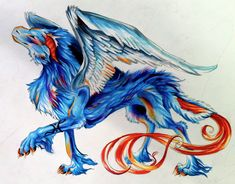 Mr. Fluffy Dragon by *Lucky978 on deviantART