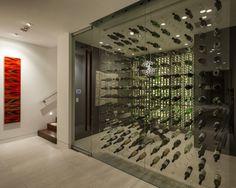 Geweldig om zo'n wijnkoeler in huis te hebben.
