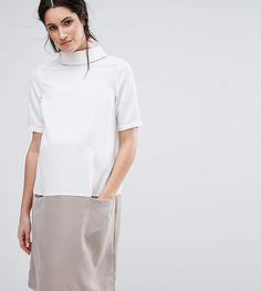 Womens Block Short Sleeve Dress Mama Licious alk2zZOBi1