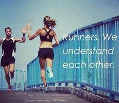 Runners...