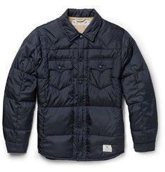 Neighborhood - Quilted Shell Shirt Jacket