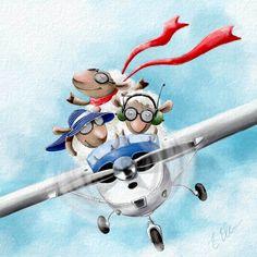 Elina Ellis Illustration: Sheep rule too!