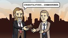 Commissioner Gordon's Origins