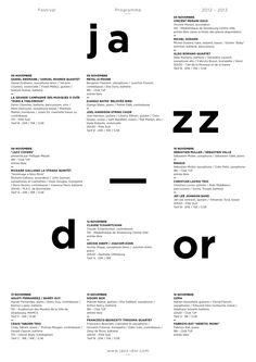 Jazz dor on Behance in Fliers/posters