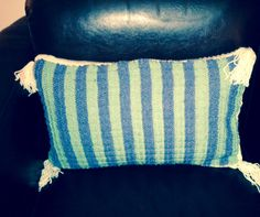Cushion cover knited