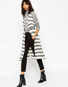 I HAVE this stripped vest dress.. can never style it as nice as photos…